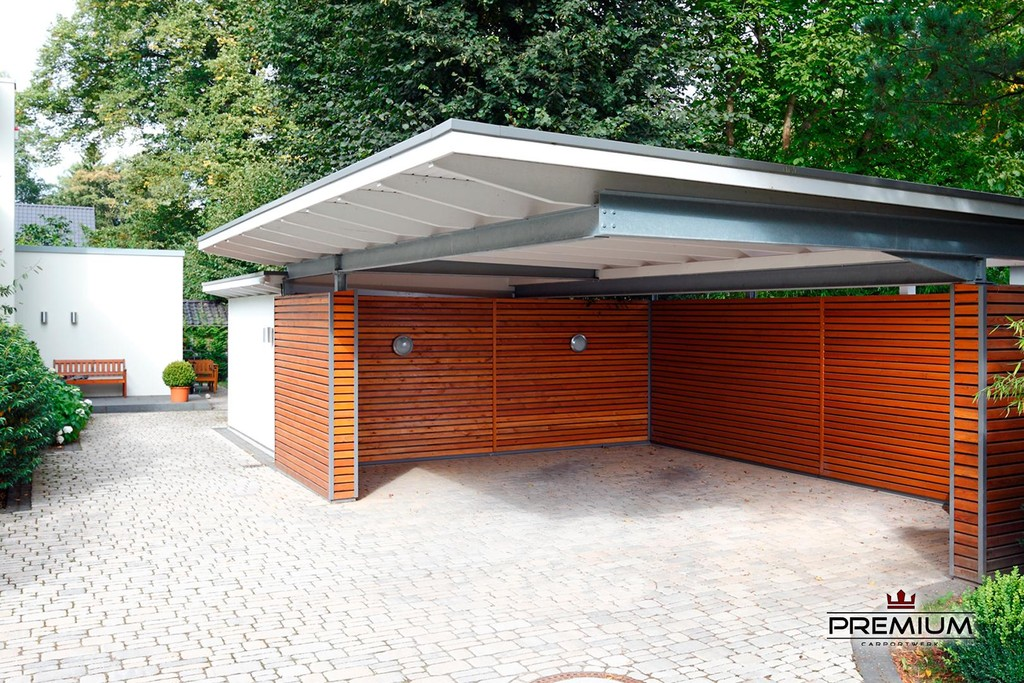 carport 39 bauhaus stahl 39 mein carport. Black Bedroom Furniture Sets. Home Design Ideas